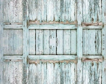 Peeling Old Barn door Photo Backdrop, Children photography background, Rustic garage door photobooth backdrop XT-2851