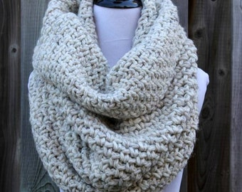 Chunky knit cowl, WOODLAND COWL, Oversized knit cowl, Knit cowl, Knit snood, Hood scarf, Infinity scarf cowl, Soft & cozy cowl, winter cowl