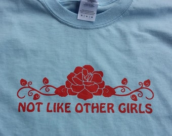 Grateful Dead Shirt Scarlet Begonias Not Like Other Girls  Tshirt Size Small-2XL