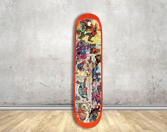 Comicbook Skate Deck