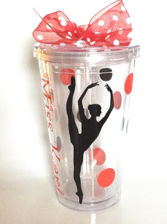 Dance Gift Personalized Tumbler For Dancer Dance Teacher