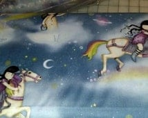 Santoro fabrics Rainbow Dreams coordinate cotton fabric