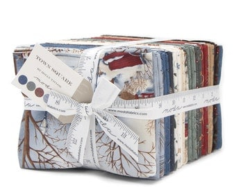 Town Square Fat Quarter Bundle by Holly Taylor for Moda Fabrics. 6630AB