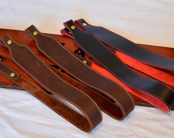 Hand Made Leather Gun Sling for Rifle or Shotgun