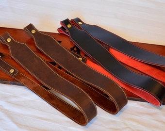 Hand Made Leather Gun Sling for Rifle or Shotgun
