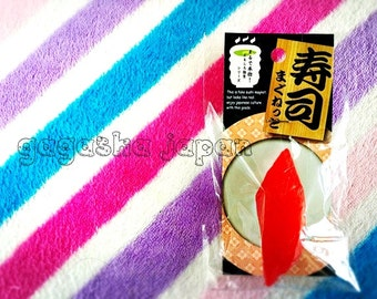 SUSHI magnet Japanese fridge memo 3D Japan fake food maguro tuna