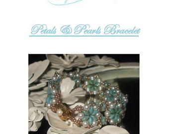 Petals & Pearls Bracelet Tutorial