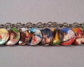 You Pick! Custom made Studio Ghibli Charm Bracelet