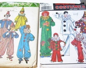Clown Circus Costumes & Hat Patterns  Theater clothes