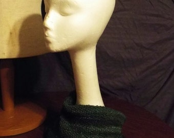 Soft Cowl in Forest Greens