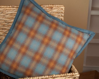 Pettygrove Plaid | Woolen Pillow made with Pendleton fabric