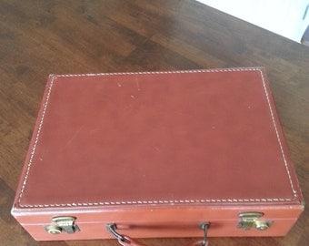 Vintage 1950's Brief Case / Salesman's Case