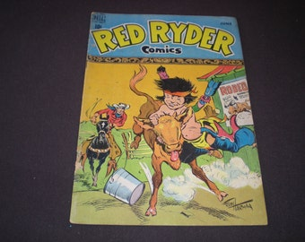 Red Ryder 71, (1949), King of the Royal Mounted,  (1941 series), Dell C15