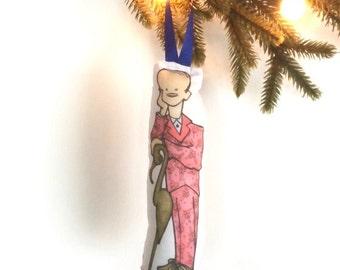 John Waters Plush Ornament