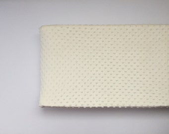 Minky Changing Pad Cover - Ivory