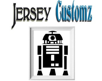 Star Wars Inspired R2D2 vinyl Decal sticker FREE SHIPPING