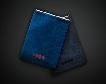 """mineD SMALL BLIND - denimcover for iPad mini 1/2/3/4,  iPad Air/Air2, 8"""" and 10"""" tablets"""