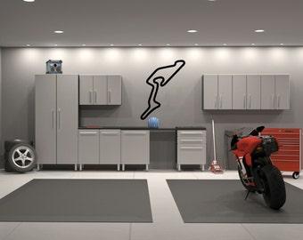 Nurburgring GP Germany Race Track Interior Wall Garage Shop Decal