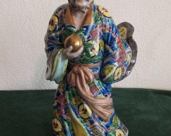 Fine Japanese Imari Kutani Porcelain Figurine