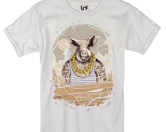 Filthy Animal Pig Men's T-Shirt (SB861)