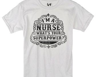 I'm A Nurse Men's T-Shirt (SB884)