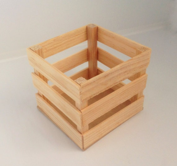 Pcs mini wood crate party supplies wooden small