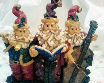 Christmas Santa Christmas decorations shabby chic rustic cottage chic Christmas décor