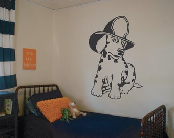 Fire Dog Dalmation Wall Decal - sp2 (8)