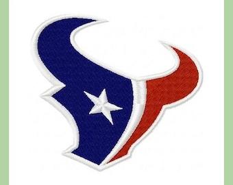Houston Texans - machine Embroidery  Design