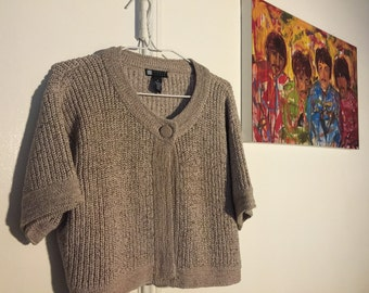 Plus size 1x knitted Cardigan