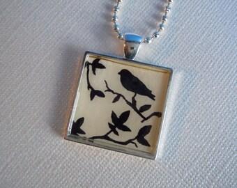Black Bird Necklace