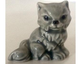Darling Goebel W. Germany Fluffy  solid Grey Persian Kitten