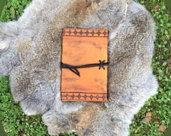 Customizable Hand-Crafted Leather Moleskin Journal Cover