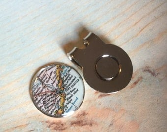Golf Ball Marker and Hat Clip
