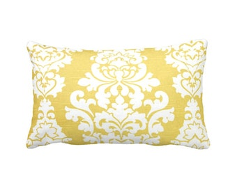 7 Sizes Available: Yellow Decorative Throw Pillow Cover Yellow Pillow Yellow Accent Pillow 12x16 17x17 20x20 22x22 24x24 Inches