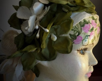 """Stunning OOAK Hand Painted  Bisque Art Doll """"Magdalena"""""""