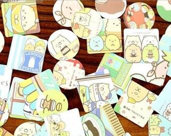 46 Piece Sumikko Gurashi Stickers