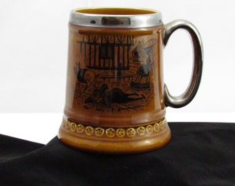 pig company he keeks mug  vintage