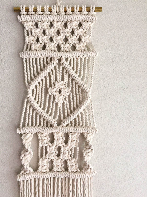 Macrame Patterns Macrame Pattern Macrame Wall Hanging