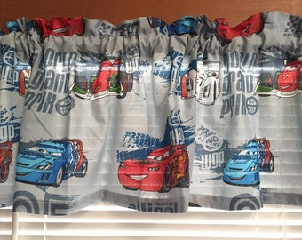 Justice League Window Valance Matches Bedding By
