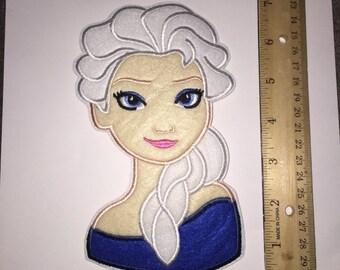 Extra Large Frozen Queen Elsa patch