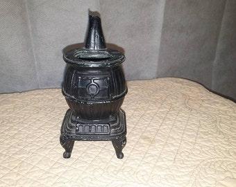 Cast Iron Potbelly Stove Censer