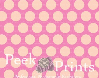 5ft.x5ft. More Pink Dots Studio Photography Backdrop