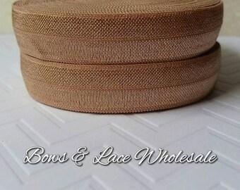 2, 3, 4, 5 or 10 yards Natural Fold over elastic, FOE. Headbands, Hair ties, DIY, Crafts, Hair accessories