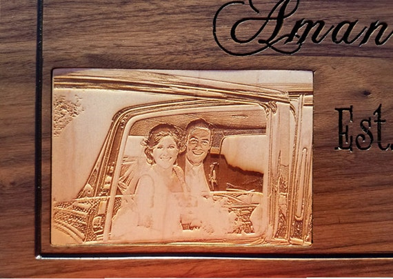Wedding Gift Name Sign : Wedding Gift Family Name Signs Custom Wooden Sign Carved Last name ...