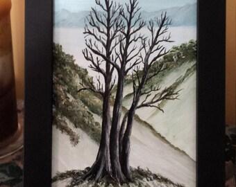 Winter Tree (original)