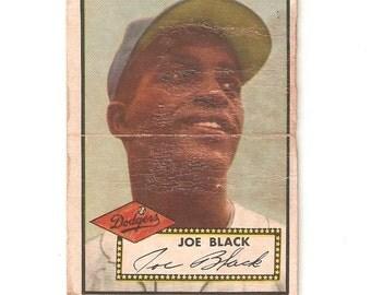 1952 ToppsHigh #321 Joe Black Fair