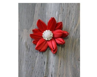 Wedding Boutonniere Grooms Boutonniere Groomsmen Boutonniere Mens Wedding Boutonniere  Boutonniere Wedding Accessories Red Boutonniere
