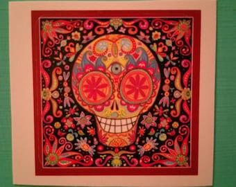 Sugar Skull Stickers