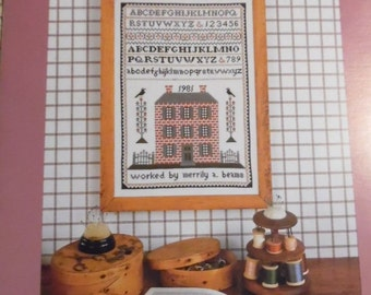 The Brick House Sampler Pattern by Merily A. Beams